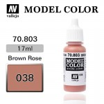 Farba Vallejo 70.803 Model Color 38 Brown Rose