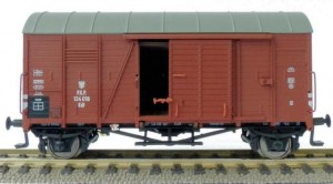 Wagon kryty Oppeln Kdt H0-1:87, PKP ep. III, Exact-train EX20287
