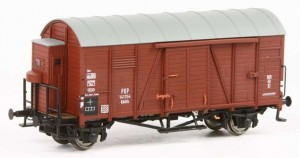 Wagon kryty Oppeln Kddth H0-1:87, PKP ep. III, Exact-train EX20123