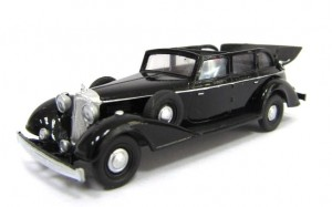 Mercedes-Benz 770 H0-1:87 kabriolet, model 1938 r., Z&Z