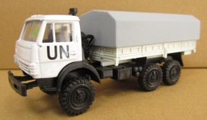 KAMAZ 4310 H0-1:87, United Nations (ONZ), AMA
