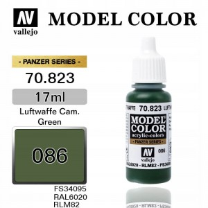 Farba Vallejo 70.823 Model Color 86 Luftwaffe Camouflage Green