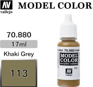 Farba Vallejo 70.880 Model Color 113 Khaki Grey