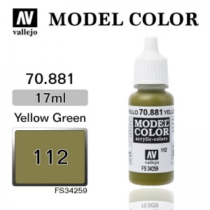 Farba Vallejo 70.881 Model Color 112 Yellow Green