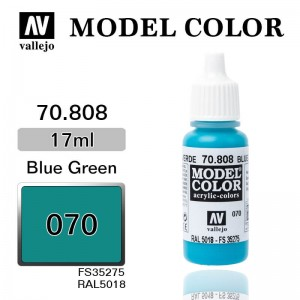Farba Vallejo 70.808 Model Color 70 Blue Green