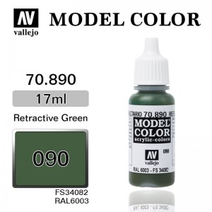 Farba Vallejo 70.890 Model Color 90 Reflective Green