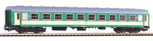 Wagon osobowy 2. kl. typ 111A H0-1:87 PKP ep. V, Piko 97600