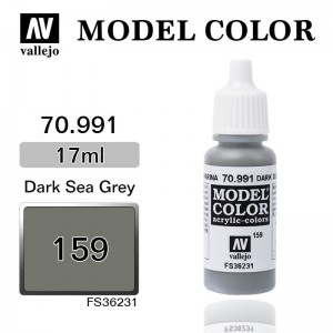 Farba Vallejo 70.991 Model Color 159 Dark Sea Grey