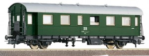 "Wagon osobowy 2. kl. ""Donnerbüchse"" H0-1:87 DR ep. IV, Roco 54203"